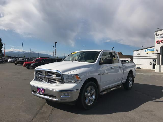Pre-Owned 2012 Ram 1500 4WD Quad Cab 140.5 Big Horn
