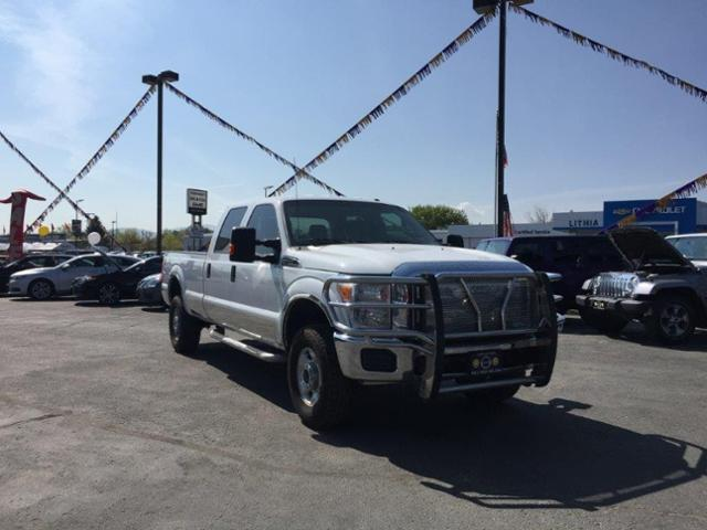 Pre-Owned 2012 Ford Super Duty F-350 SRW 4WD Crew Cab 172 XL