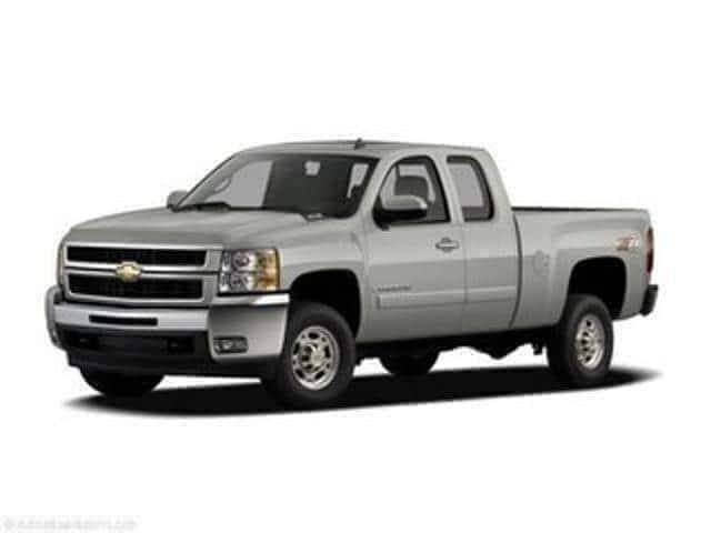 Pre-Owned 2007 Chevrolet Silverado 2500HD 4WD Ext Cab 143.5 Work Truck