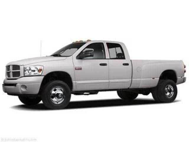 Pre-Owned 2007 Dodge Ram 3500 4WD Quad Cab 160.5 DRW SLT