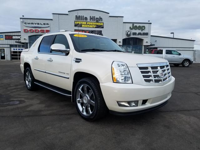 Pre-Owned 2010 Cadillac Escalade EXT AWD 4dr Luxury