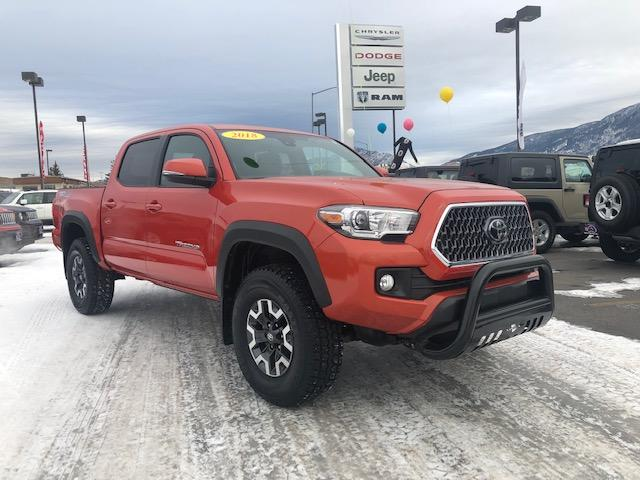 Pre-Owned 2018 Toyota Tacoma TRD Off Road Double Cab 5' Bed V6 4