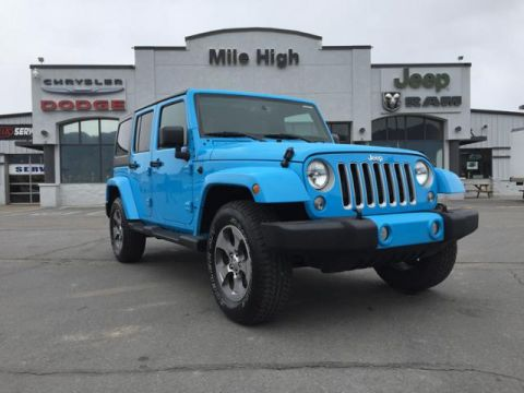 Pre-Owned 2018 Jeep Wrangler Unlimited JK Sahara 4x4