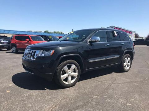 Pre-Owned 2012 Jeep Grand Cherokee 4WD 4dr Overland