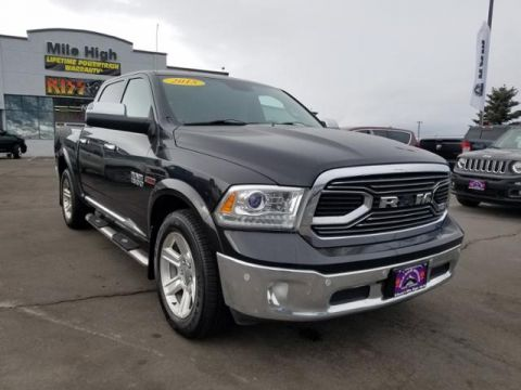 Pre-Owned 2015 Ram 1500 4WD Crew Cab 140.5 Laramie Limited