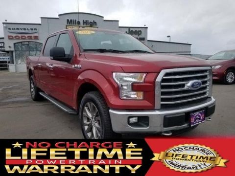 Pre-Owned 2015 Ford F-150 4WD SuperCrew 157 XLT