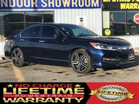 Pre-Owned 2017 Honda Accord Sport SE CVT