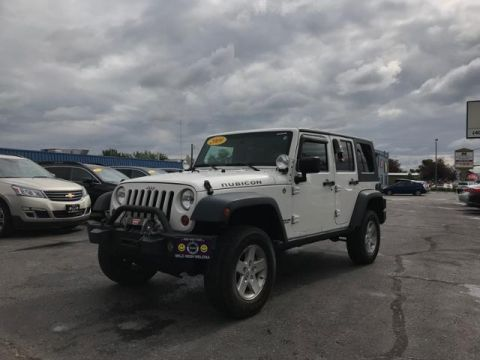 Pre-Owned 2009 Jeep Wrangler Unlimited 4WD 4dr Rubicon